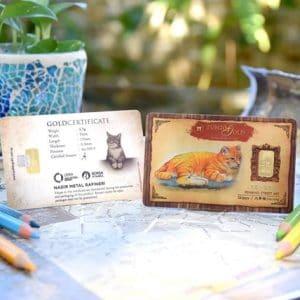 Public Gold Bar 0.5gram Cat